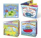 Baby Toddler Bath Books Bath Crayons Plastic Coated Fun Educational Toys Kids