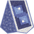 Maywood fabrics~~QUILT KIT~~Roly Poly Snowman Log Cabin table runner POD