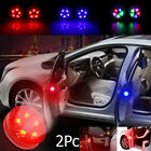5 Led Car Door Led Opening Warning Lamp Safely Flash Signal Light 2pcs