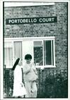 Portobell court with a two pople. - Vintage photo
