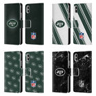 NFL 2017/18 NEW YORK JETS LOGO LEATHER BOOK CASE FOR APPLE iPHONE PHONES