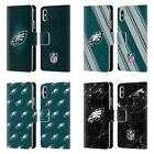 NFL 2017/18 PHILADELPHIA EAGLES LEATHER BOOK CASE FOR APPLE iPHONE PHONES