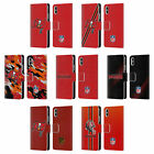 NFL TAMPA BAY BUCCANEERS LOGO LEATHER BOOK WALLET CASE FOR APPLE iPHONE PHONES