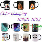 New Heat Sensitive Color Change Magic Coffee Mug Cup Best Gift For Fans In BOX