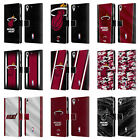 OFFICIAL NBA MIAMI HEAT LEATHER BOOK WALLET CASE FOR HTC PHONES 2 on eBay