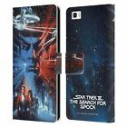 OFFICIAL STAR TREK MOVIE POSTERS TOS LEATHER BOOK CASE FOR HUAWEI PHONES 2