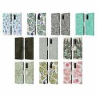 CAT COQUILLETTE PATTERNS 3 LEATHER BOOK WALLET CASE COVER FOR SAMSUNG PHONES 1