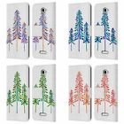 OFFICIAL CAT COQUILLETTE PINE TREES LEATHER BOOK WALLET CASE FOR SONY PHONES 2