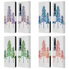 OFFICIAL CAT COQUILLETTE PINE TREES LEATHER BOOK WALLET CASE FOR XIAOMI PHONES
