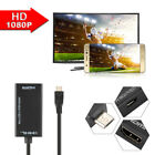 MHL Micro USB zu HDMI Kabel Video Streaming Adapter für Samsung Galaxy AC1387