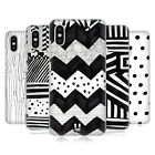 HEAD CASE DESIGNS BLACK AND WHITE DOODLE PATTERNS BACK CASE FOR XIAOMI PHONES