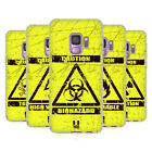 HEAD CASE DESIGNS HAZARD SYMBOLS SOFT GEL CASE FOR SAMSUNG PHONES 1
