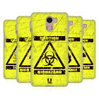 HEAD CASE DESIGNS HAZARD SYMBOLS SOFT GEL CASE FOR WILEYFOX PHONES