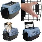 Pet Kennel Airline Approved 2 Door With Top Load Dog Carrier In Assorted Colors