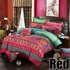 Bohemian Ethnic Boho Bedding Duvet Cover Set w/ Pillowcase Twin Full Queen King image
