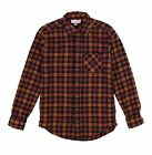 American Apparel NEW Mens Plaid Flannel Lumberjack Classic Fit Button Down Shirt