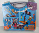 Playmovil Toy Set 4219 Travel Case Pirate Parrot Canon Treasure Chest Build New
