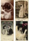 GLAMOUR WEDDING DRESSES 100 Vintage Postcards Incl. Real Photo Cards