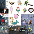 Cute Cartoon Animal Brooch Enamel Shirt Label Pin Collar Pins Badge Jewelry Gift image