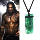 Movie Superhero Aquaman Green Necklace Ewelry Justice League Mysterious power