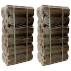 AMOS High Energy Ultra Dry Heat Logs Open Fire Eco Wood Log Fuel (24 Logs)