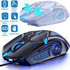 Rainbow Gaming Keyboard and Mouse Set LED Multi-Colored Changing Backlight Mouse
