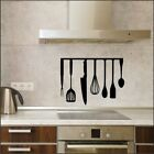 Kitchen Utensils Wall Stickers Vinyl Decal Hanging Cooking Accessories