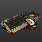 Mechanical Keyboard USB Cable Ergonomic Mechanical Gaming Keyboard+Mouse Set