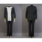 Star Trek Into Darkness Admiral Marcus Uniform Cosplay Costume Jacket Full Set