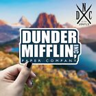 Dunder Mifflin Paper Company Sticker Vinyl Decal - Car Truck Wall The Office TV