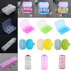 Portable Medicine Pill Box Jewelry Storage Case Tablet Capsules Container Holder