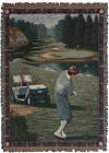 Men's Golf Tour Tapestry Throw