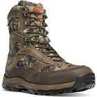 "Danner Mens 46246 High Ground 8"" Mossy Oak Camo 400G Insulated Hunting Boots"