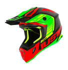 NEW JUST1 BLADE MOTOCROSS ENDURO MX HELMET JUST 1 RED LIME BLACK KX KXF KLX CR
