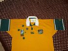 AUSTRALIIAN WALLABEE RUGBY POLO SIZE L WORLD CUP 2003 NO RESERVE