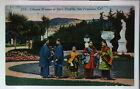 Postcard Chinese Women Sutro Heights San Fran CA Pacific Novelty Co