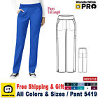 WonderWink Scrubs PRO Women's Knit Waist Cargo Pant 5419 Tall