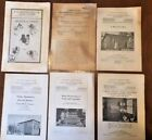 6- Vintage U.S. Department Of Agriculture Farmers' Bulletins plus others