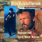 Kris Kristofferson 2 CD Repossessed/Third World Warrior rare OOP