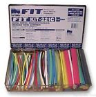 Heat Shrink Tubing Kit, FIT-221, 119 152.4mm Long Pieces in Various Sizes and Co