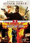 DVD Movie - Steven Seagal Double Feature - ATTACK FORCE & INTO THE SUN