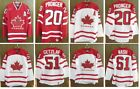 Mens Team Canada 2010 Olympic Red White Jersey 20 PRONGER 51 GETZLAF 61 NASH