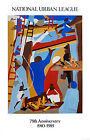 The Builders Jacob Lawrence Art Print Poster 23x35.75