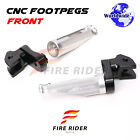 For SV650 X Retro Caf??Racer 25mm Extended Rider Footpegs