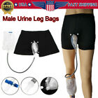 US Incontinence Urology Set Bladder Aid Male Urine Leg Bags & SILICONE Catheter $17.41 USD on eBay