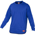 Rawlings Baseball Pullover Long Sleeve Dugout Fleece – Royal on Ebay