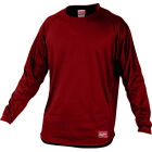 Rawlings Baseball Red Pullover Long Sleeve Dugout Fleece – Scarlet
