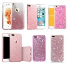 Bling Glitter Sparkle Cute Girly Slim Protective Phone Case Covers For iPhone