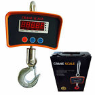 Digital Hanging Scale LCD Display 1100lb Tare Function High-precision Reliable