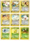 Pokemon JAPANESE VS SET 1ST EDITION COMMON Very RARE